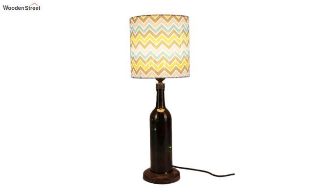 Chevron Bottle Table Lamp-2