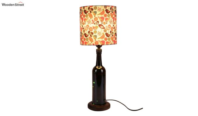 Colourful Bird Bottle Table Lamp-2