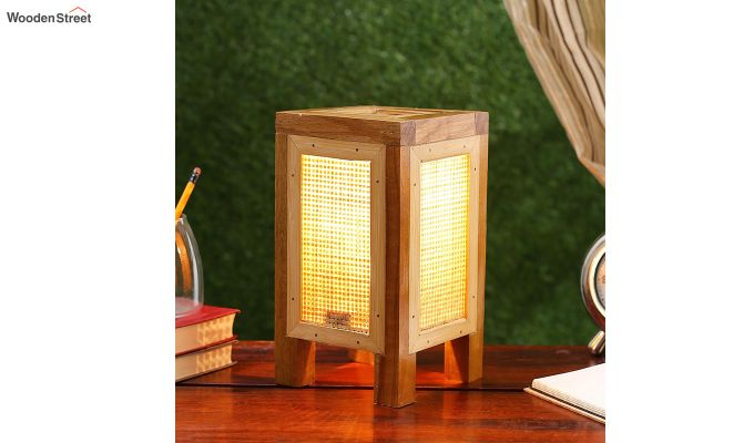 Contemporary Bamboo Table Lamp-1