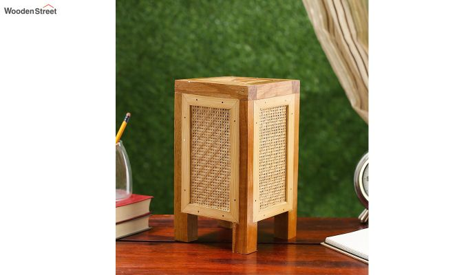 Contemporary Bamboo Table Lamp-2