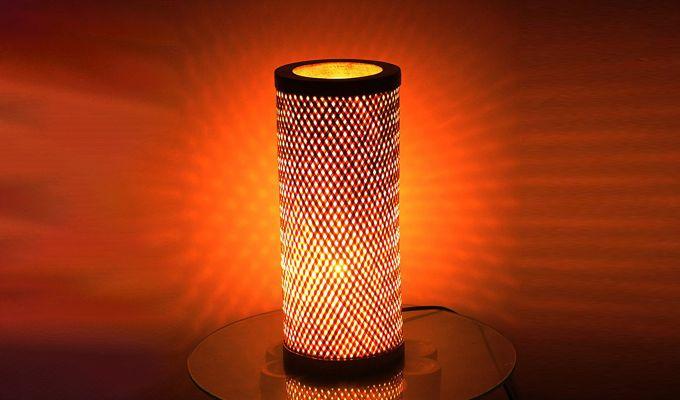 Decorative Bamboo Table Lamp-1