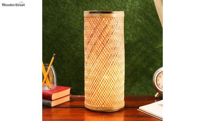 Decorative Bamboo Table Lamp-2