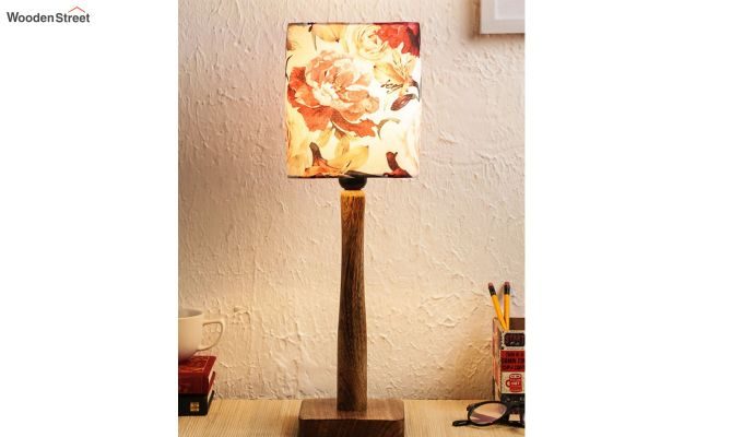 Floral Rose Table Lamp-1