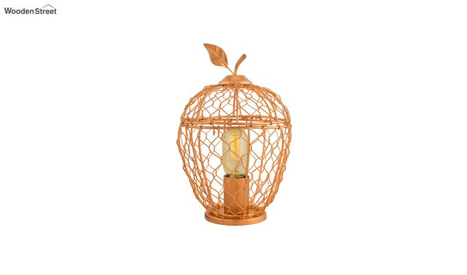 Hollman Copper Apple Cage Table Lamp-2