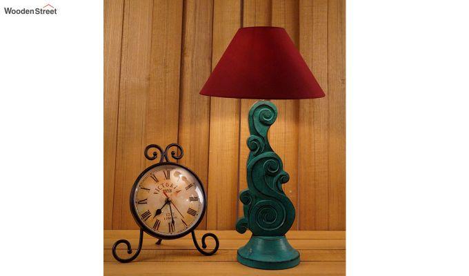 Holly Maroon Table Lamp-1