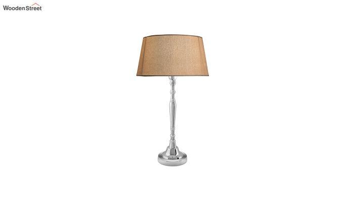 Imperial Nickel Brushed Khadi Table Lamp-2