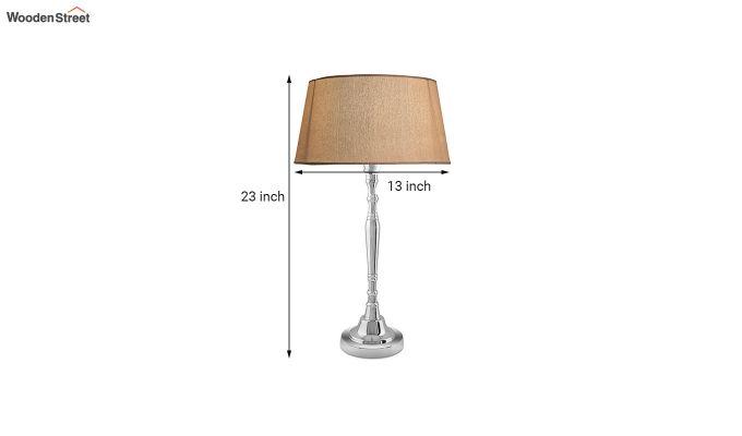 Imperial Nickel Brushed Khadi Table Lamp-4