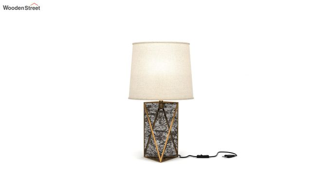 Jewel Antique Glass Table Lamp-2