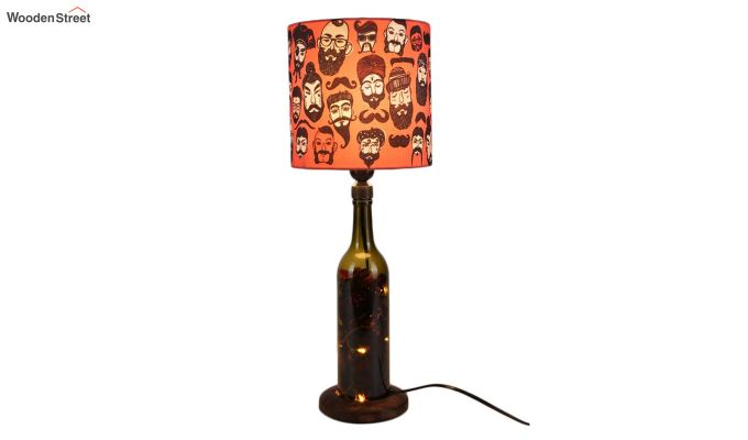 Moochh Wala Bottle Table Lamp-2