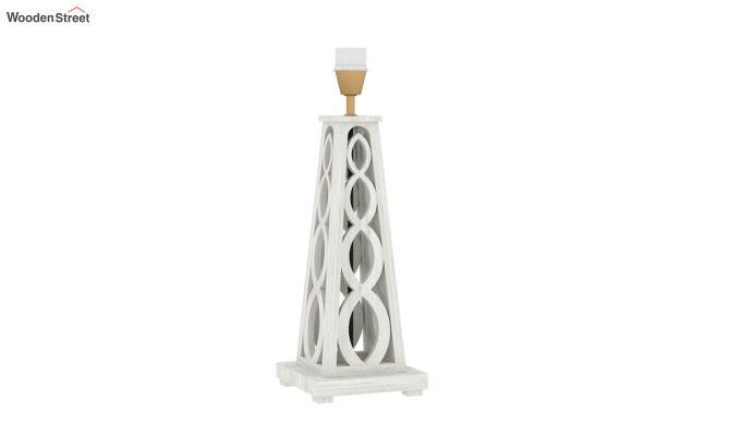 Spiro Table Lamp (White Finish, Cream Robins)-4