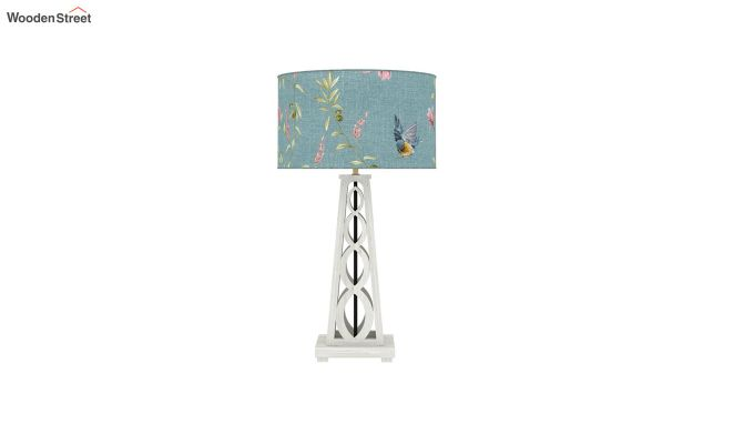 Spiro Table Lamp (White Finish, Bubble Robins)-3