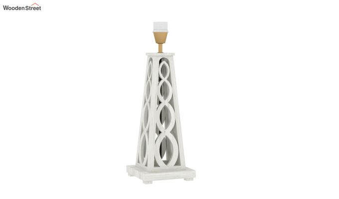 Spiro Table Lamp (White Finish, Bubble Robins)-4