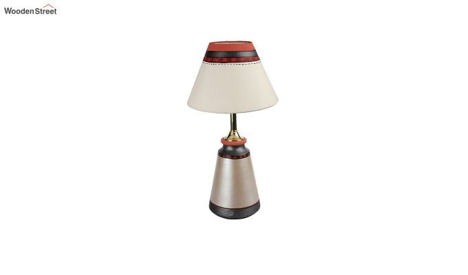 Spring Flowers Terracotta Taper Lamp-5