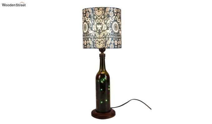 Tribal Art Bottle Table Lamp-1