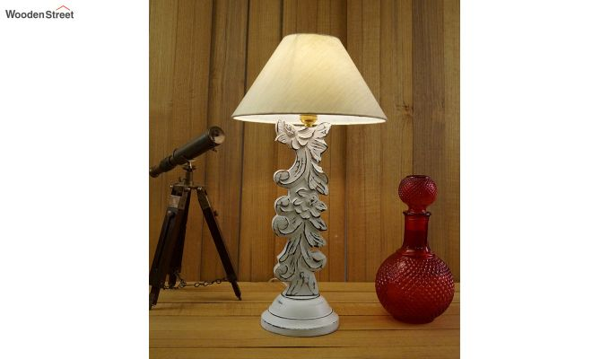 Vino Cream Table Lamp-1