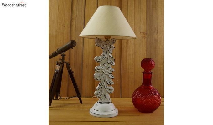Vino Cream Table Lamp-2