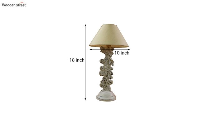 Vino Cream Table Lamp-4