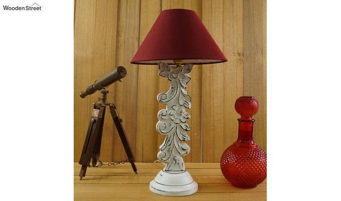 Vino Maroon Table Lamp-3