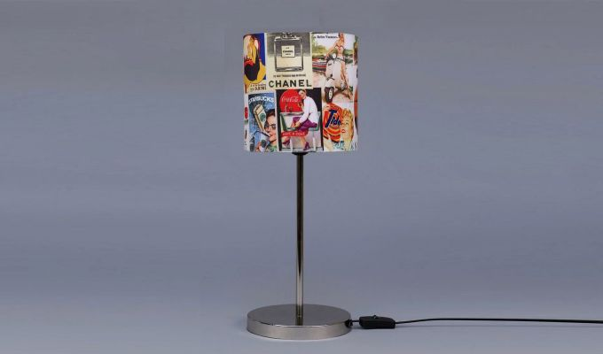 Vintage Ads Table Lamp-3