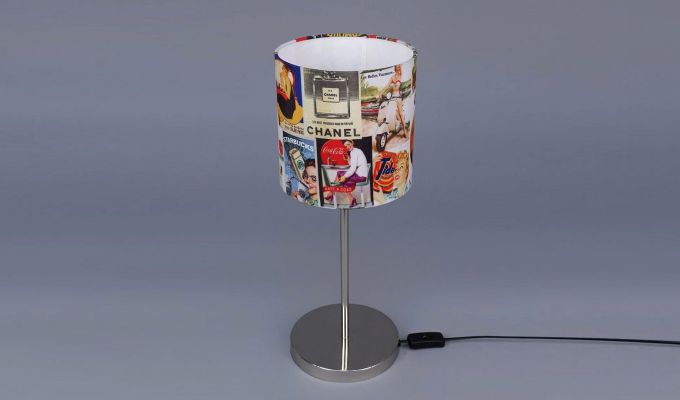 Vintage Ads Table Lamp-4