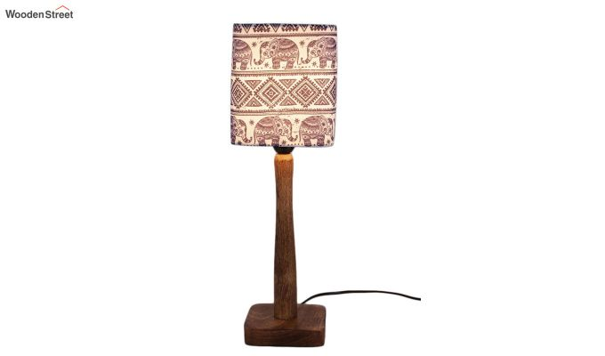 Warli Art Table Lamp-2