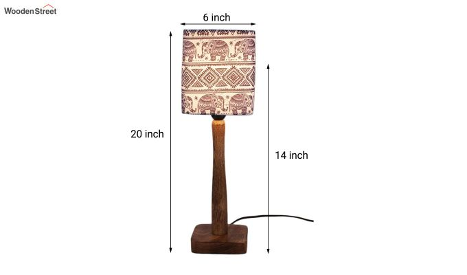 Warli Art Table Lamp-3