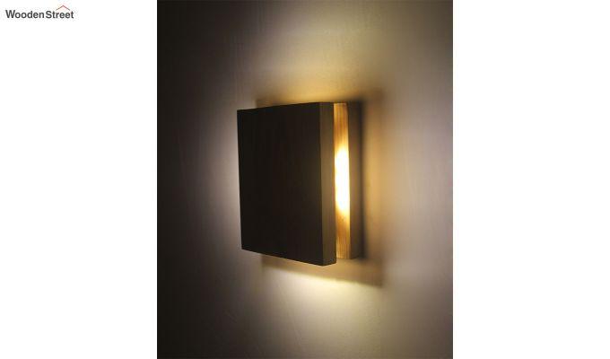 Aura6 LED Beige Wooden Wall Light-4