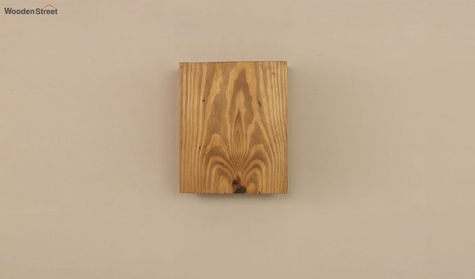 Aura6 LED Brown Wooden Wall Light-4