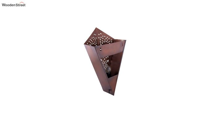 Moroccan Cone Copper  Wall Light-3