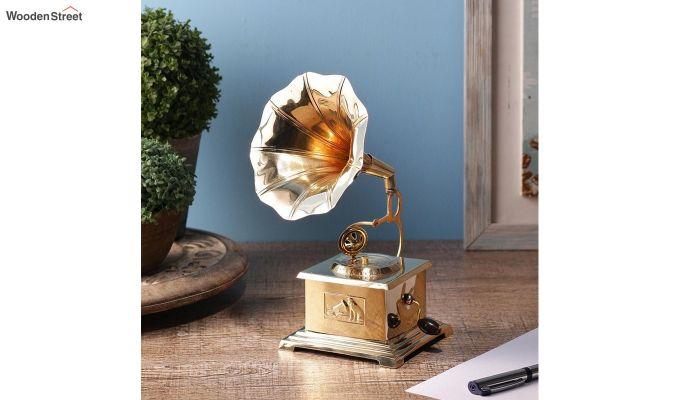 Brass Gold Gramophone-1