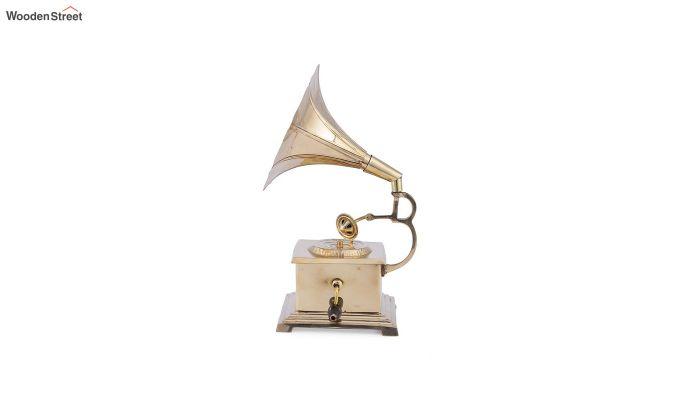 Brass Gold Gramophone-4
