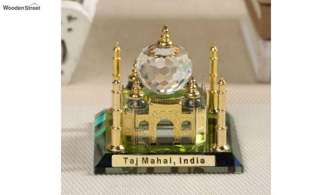 Crystal Brass 3-inch Taj Mahal Miniature-1