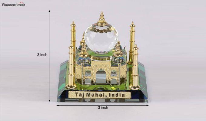 Crystal Brass 3-inch Taj Mahal Miniature-4