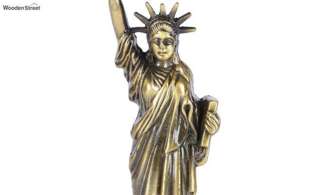Metallic 10-inch Statue Of Liberty Miniature-2