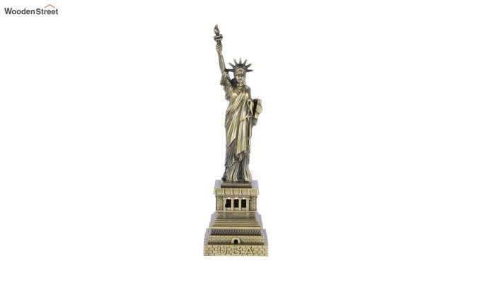 Metallic 13-inch Statue Of Liberty Miniature-1