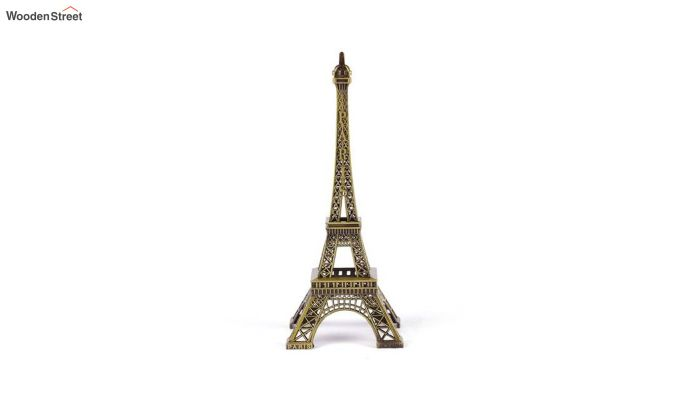 Metallic Black and Green 9-inch Eiffel Tower-1