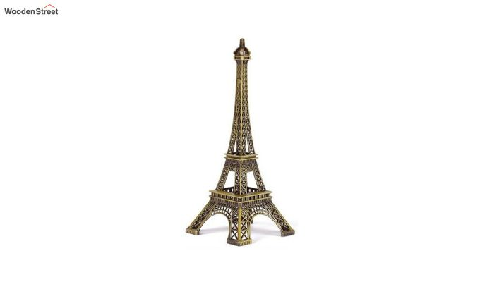 Metallic Black and Green 9-inch Eiffel Tower-2