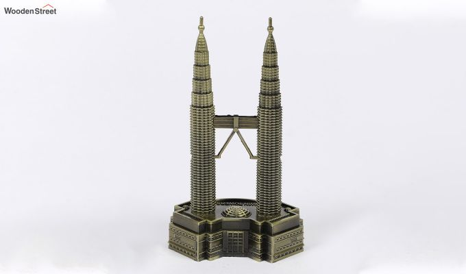 Metallic Petronas 7-inch Twin Tower Miniature-2