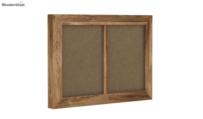 Oak Dual Photo Frame (Natural Finish)-2