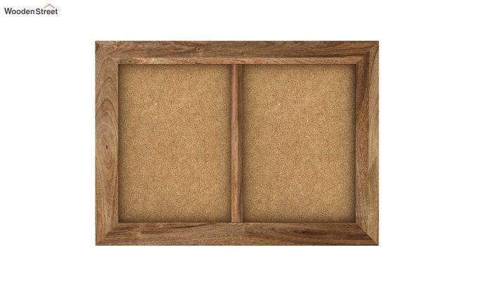 Oak Dual Photo Frame (Natural Finish)-3
