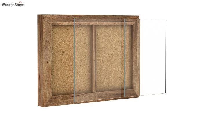 Oak Dual Photo Frame (Natural Finish)-4
