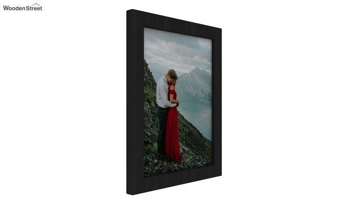 Amour Photo Frame Set Of Two (Black) (Black Finish)-2