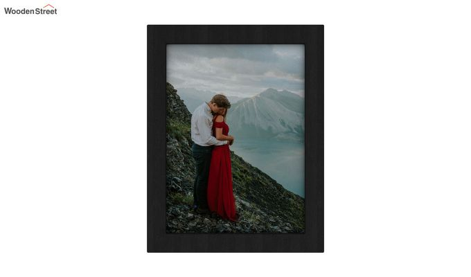 Amour Photo Frame Set Of Two (Black) (Black Finish)-3
