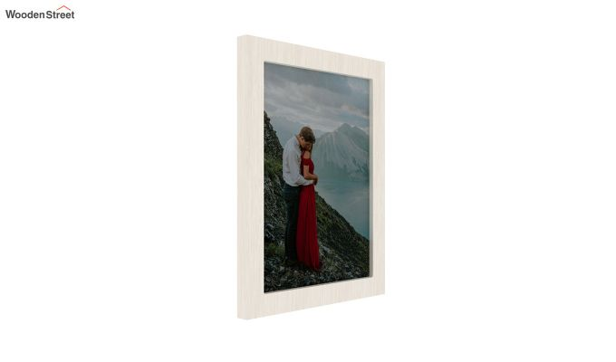 Amour Photo Frame Set of Two (White) (White Finish)-2