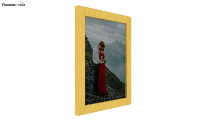 Amour Photo Frame Set Of Two (Yellow) (Yellow Finish)-2