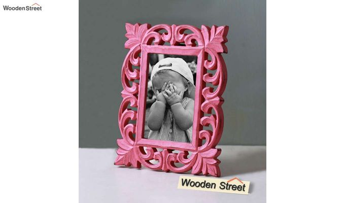 Coral Pink Photo Frame-1