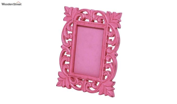 Coral Pink Photo Frame-3