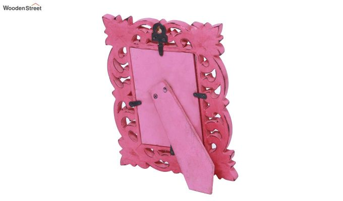 Coral Pink Photo Frame-4