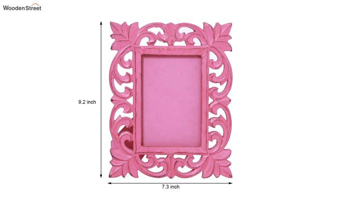Coral Pink Photo Frame-5