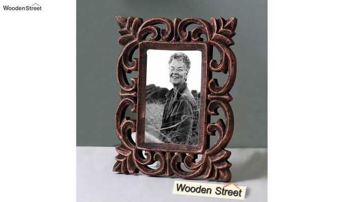 Dark Wood Photo Frame-1